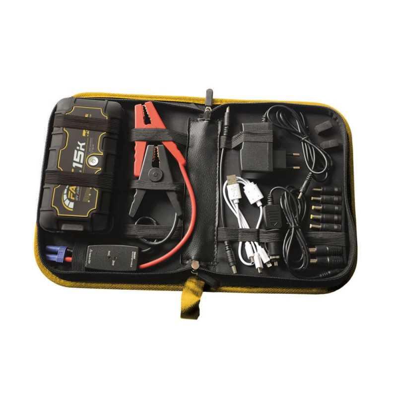 Arrancador de Batería Autónomo 12V Fast 15K 380800 Deca MI-DCA-053602