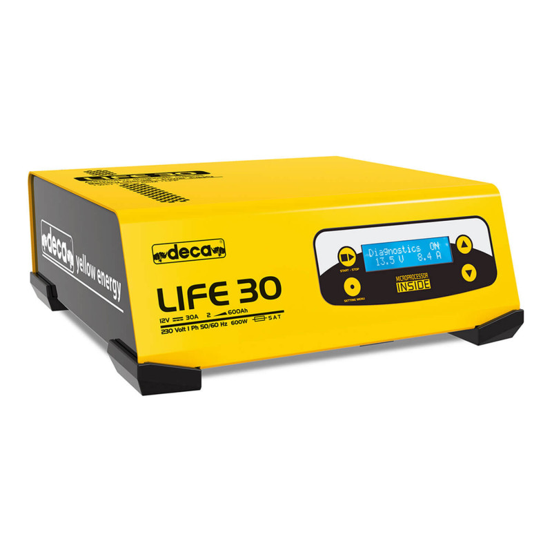 Cargador de Batería 12V LIFE 30 30 AMP 330500 Deca MI-DCA-053604