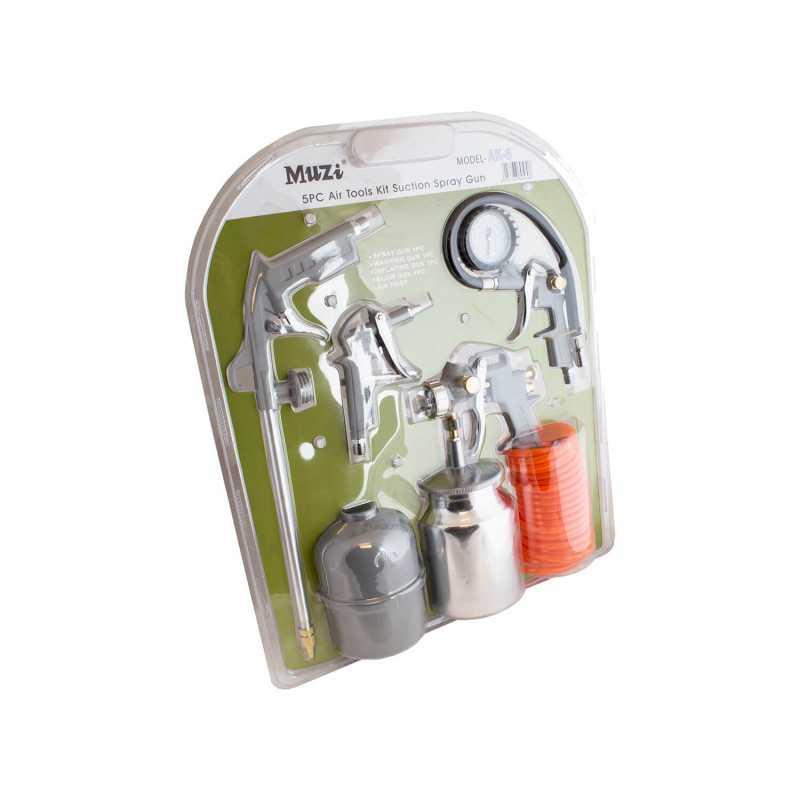 Kit Compresor 5 piezas K-6 Muzi MI-MUZ-35334