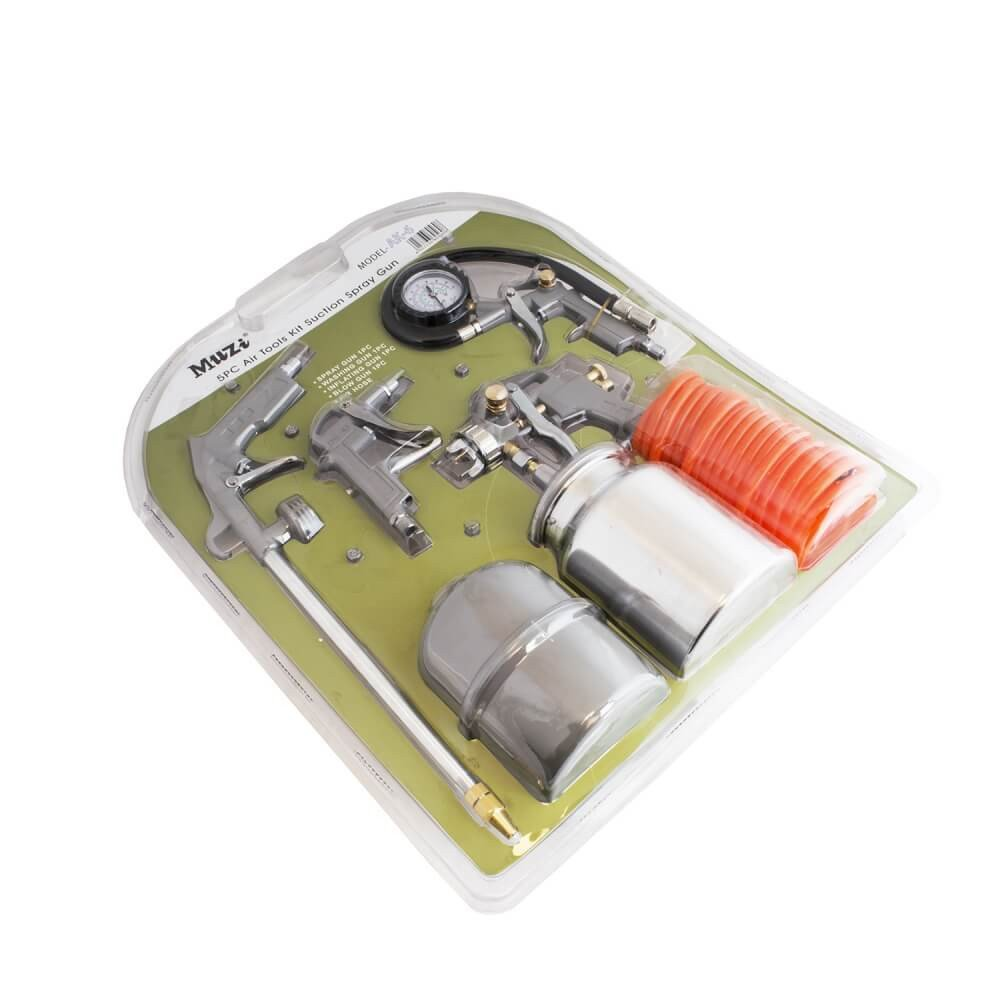 Kit Compresor de aire 5 piezas K-6 Muzi MI-MUZ-35334