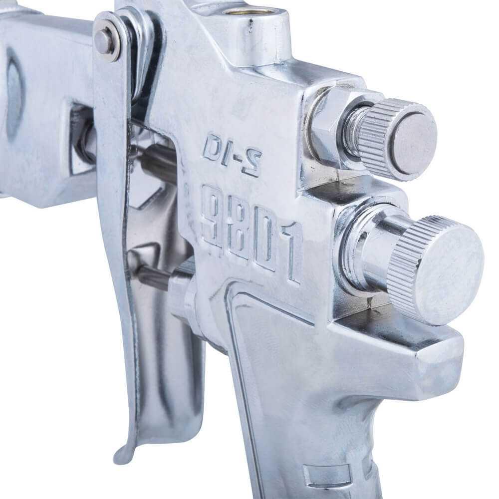 Pistola De Pintar Boquilla 1.5 mm 400cc TIP9801G Muzi MI-MUZ-39104