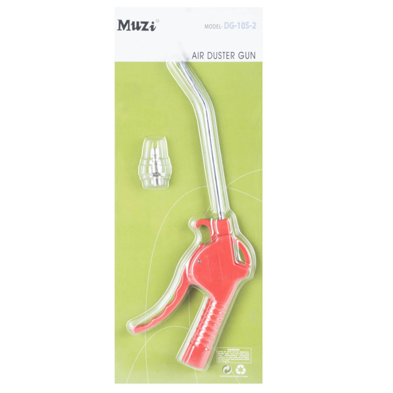Pistola Sopletear Boquilla Mediana DG-10S-2 Muzi MI-MUZ-45306
