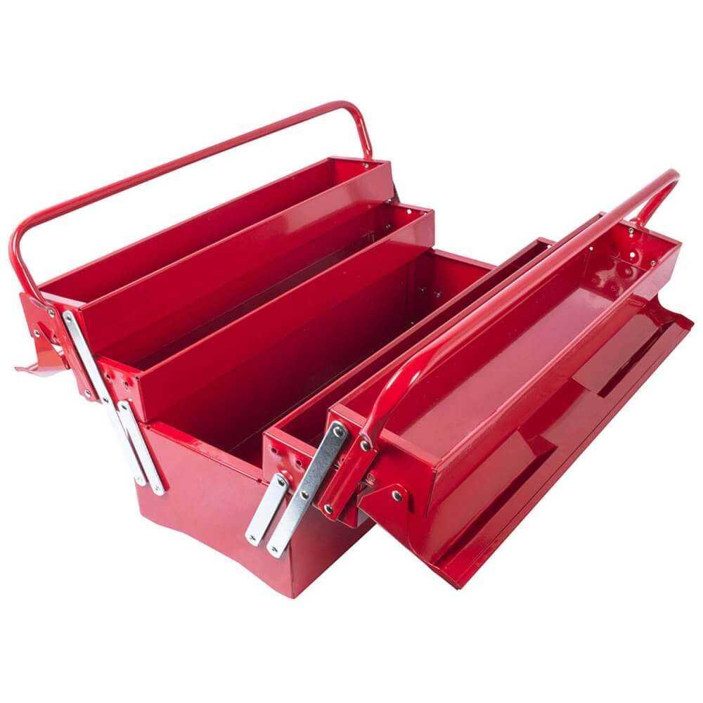 """Caja de herramientas Abatible 20"""" NTBC122 Torin MI-TON-36403"""
