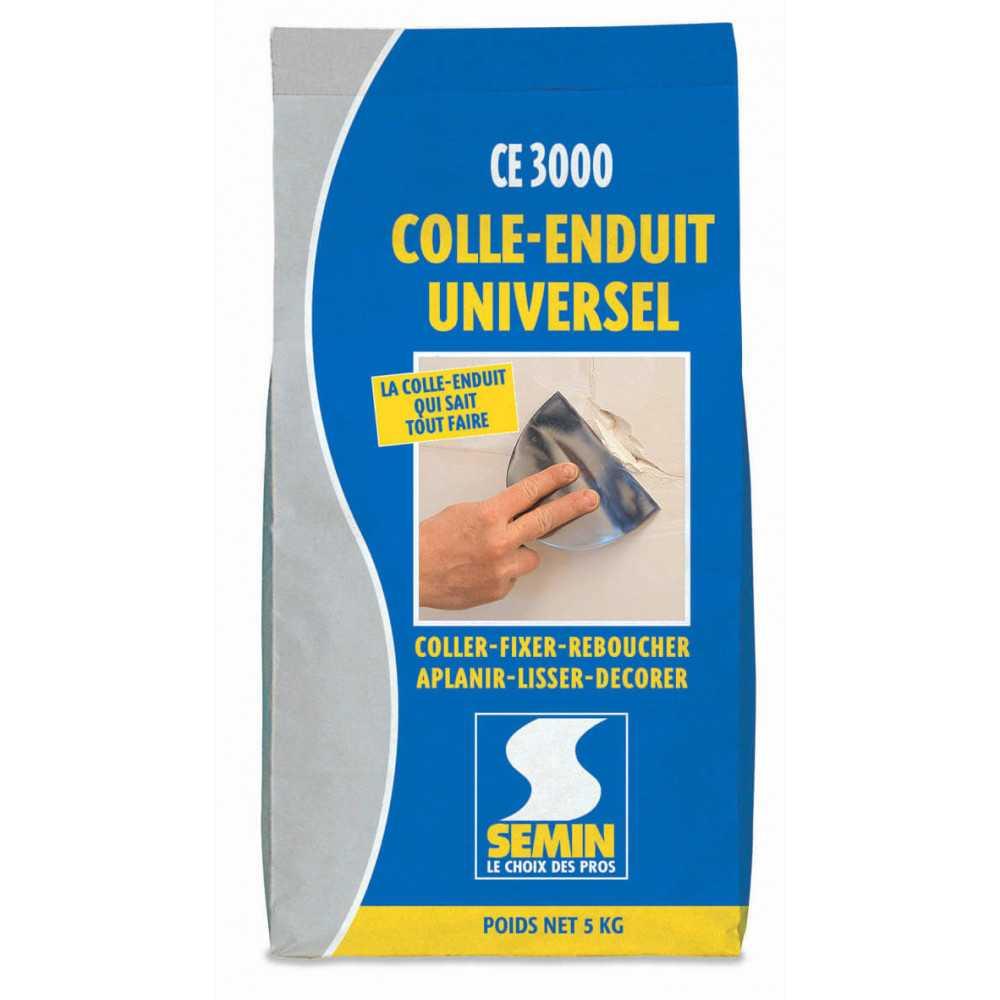 Pasta Muro CE 3000 con Pegamento Universal 5 KG Semin A00706