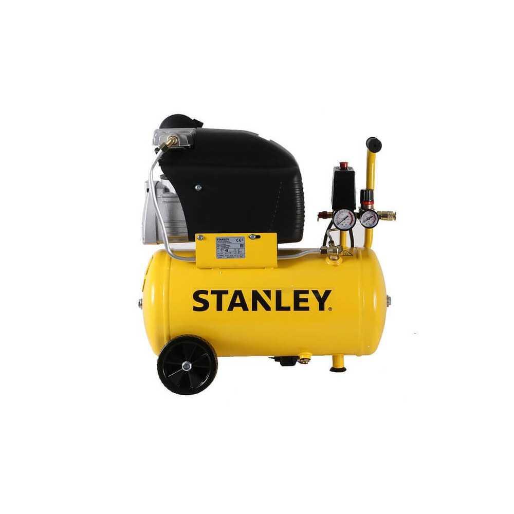 Compresor Monofásico 24L 2HP 116PSI D 211/8/24 Stanley 24730013