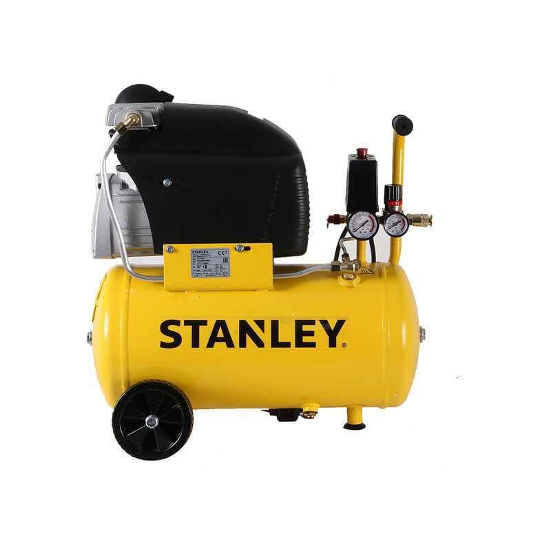 Compresor de Aire Monofásico 50L 2HP 116PSI Stanley 24730021