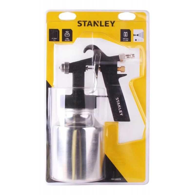 Pistola Para Pintar 1000 CC Boquilla 1.4 MM 44 PSI Stanley 24731015