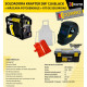 Soldadora Inverter 120A DW120 BLACK+Mascara+Kit Seg. Krafter 4435000000123