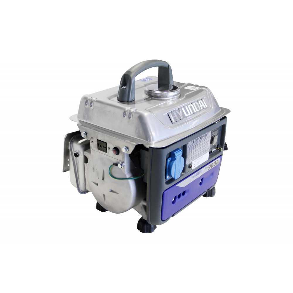 Generador Eléctrico 2 tiempos 780 w HYUNDAI 78HYH960