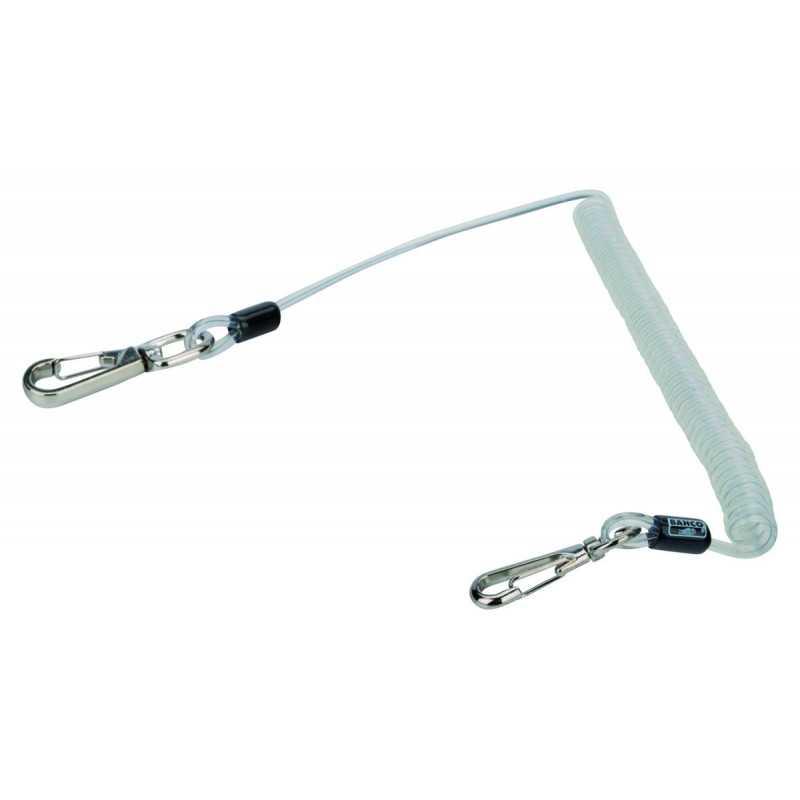 Porta Herramientas en Espiral con Cadena de Anillos de Metal de 1 MM Bahco 439000000