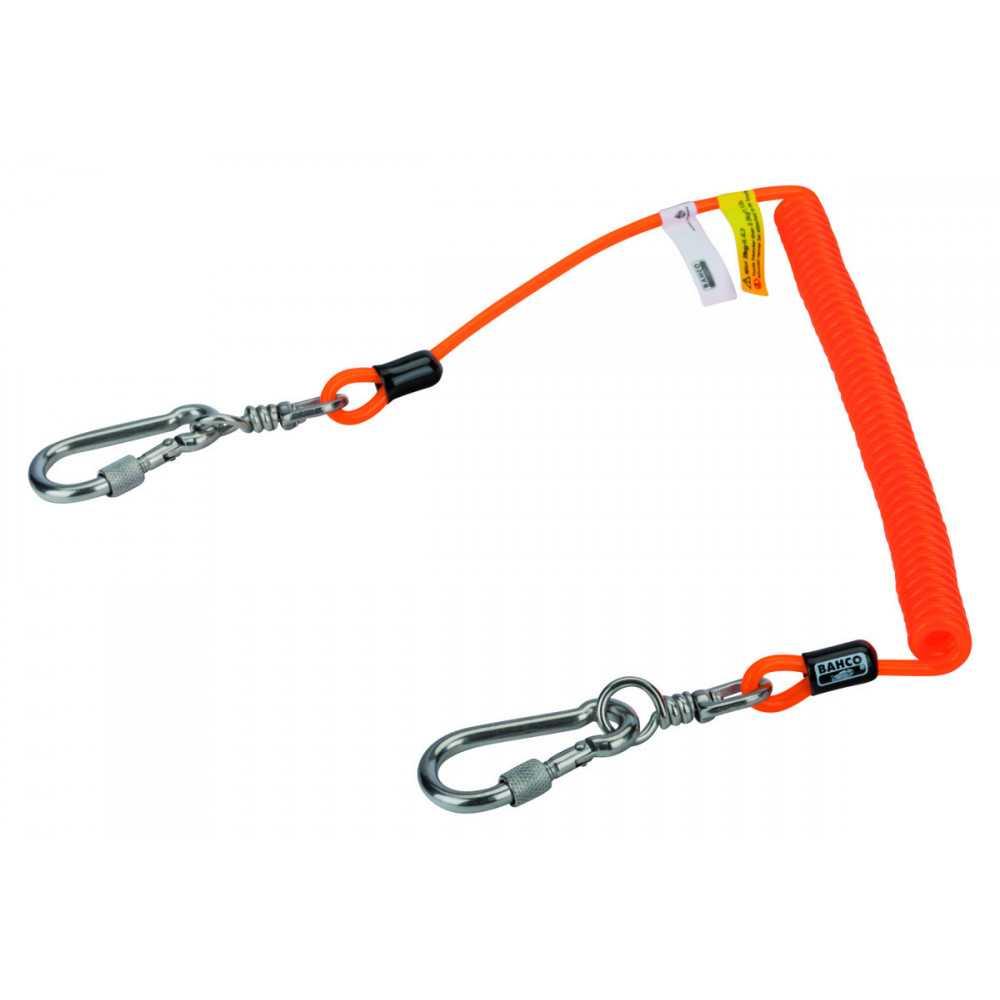 Porta Herramientas en Espiral con Mosquetón Giratorio para 2 KG de 2 M Bahco 439000002