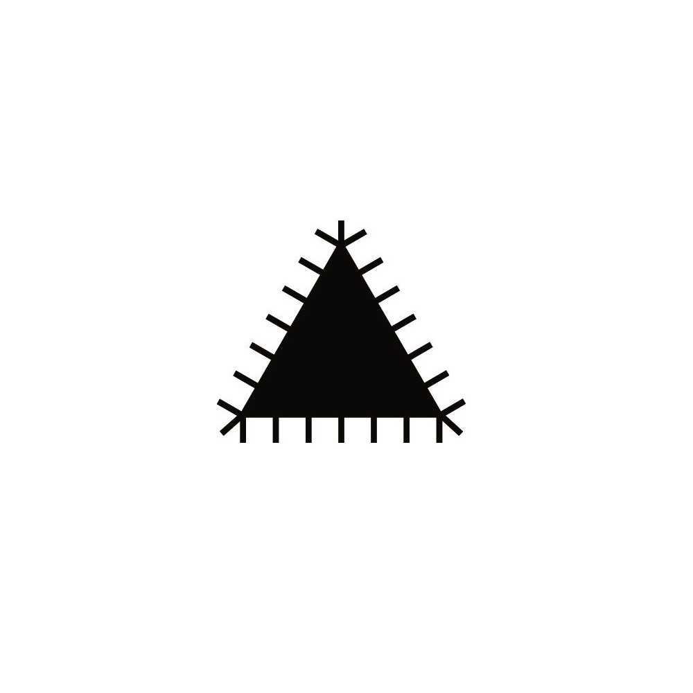 """Lima Triangular 10"""" ERGO™ corte basto Bahco 1-170-10-1-2"""