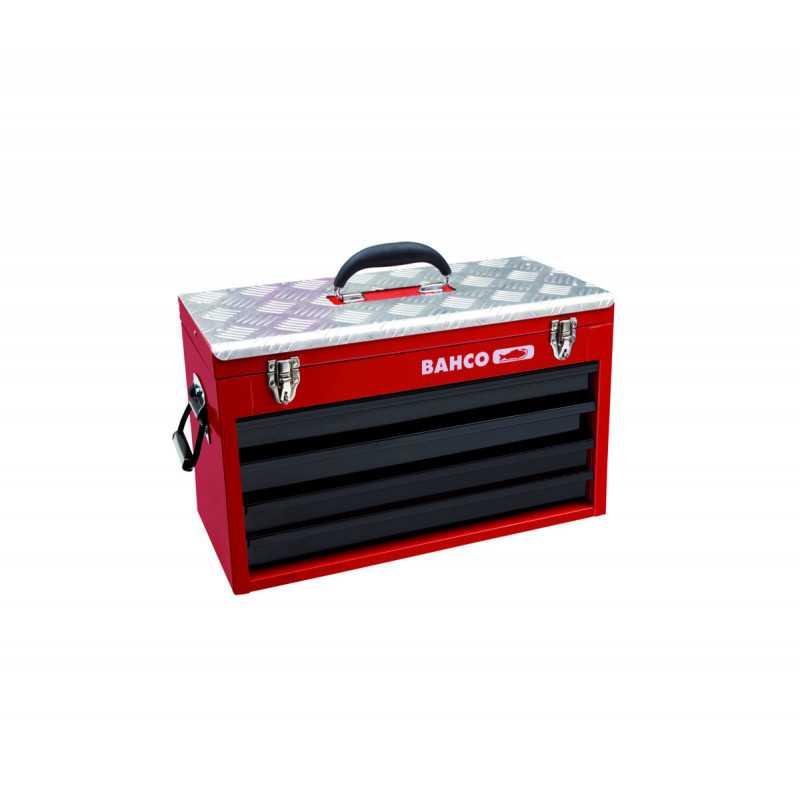 Caja de herramientas Metálica para Industria Pesada con 4 cajones Bahco 1483KHD4RB