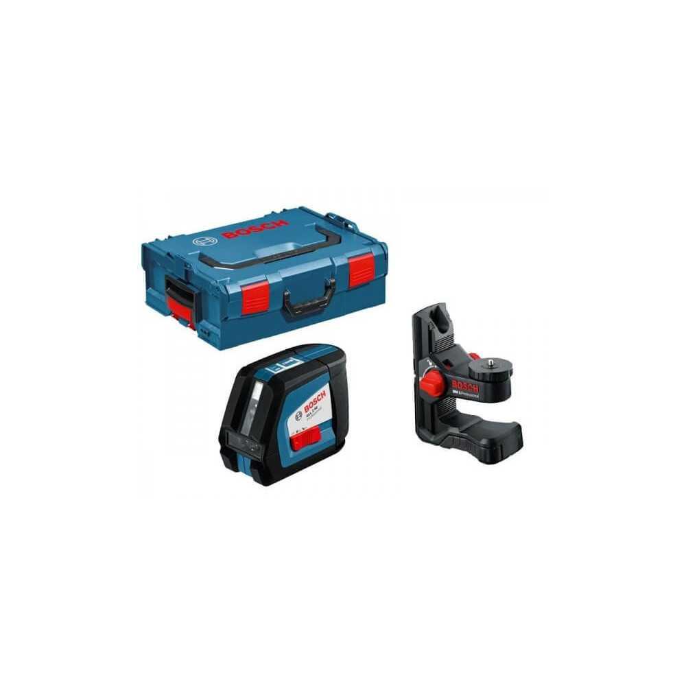 Niveles laser de linea Bosch GLL 2-50+BM 1 LoBOXX