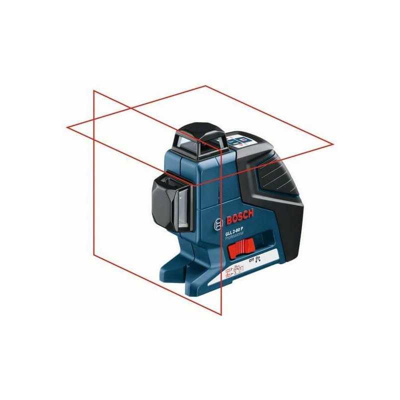 Niveles laser Lineales 360º Bosch GLL 2-80