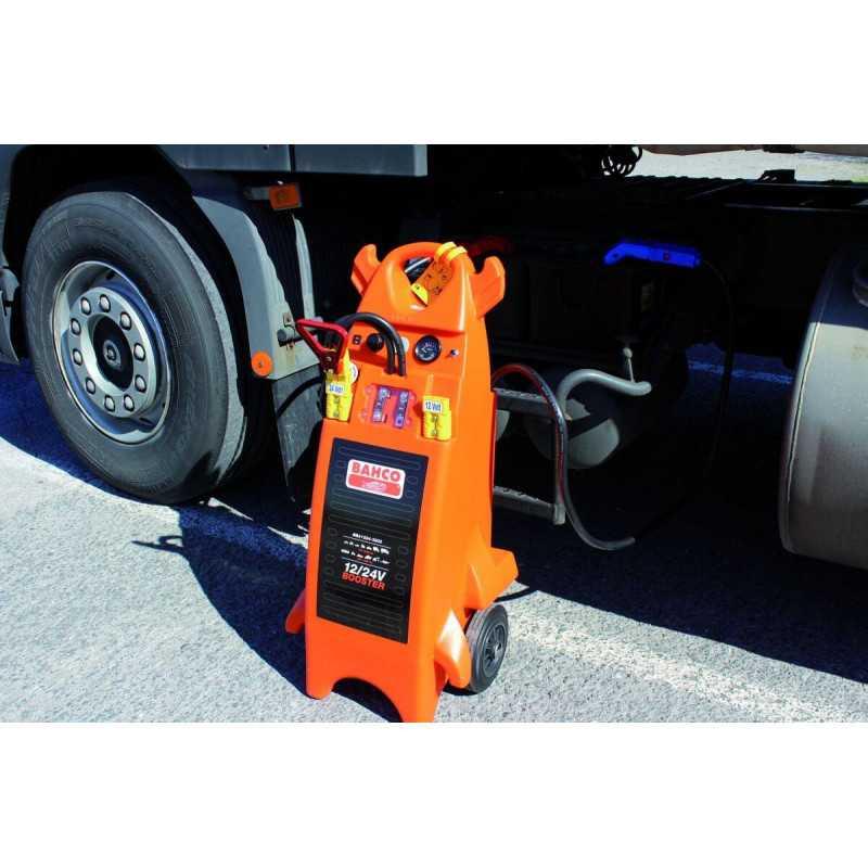 Arrancador de Batería Booster para Industria Pesada 12/24V Bahco BBA1224-3200