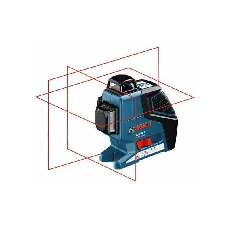 Nivel laser de Planos + Trípode BT 150 Bosch GLL 3-80 P