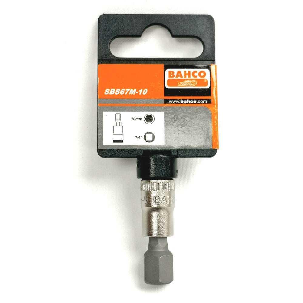 "Dado 1/4"" punta hexagonal 10 mm Bahco SBS67M-10"
