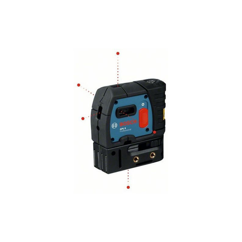 Nivel laser de puntos Bosch GPL 5