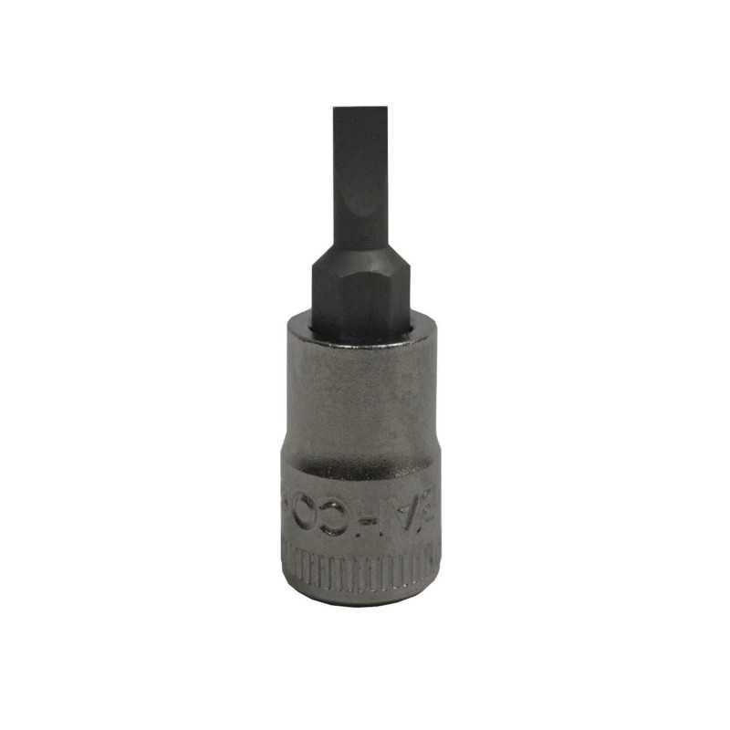 """Dado 1/4"""" con punta plana 4 mm Bahco SBS67F-4"""