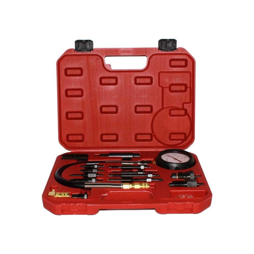 Manometro Compresimetro Diesel 0-70 BAR 15 Pzas HS-A1020 Ktg Auto Tool MI-KTG-052905