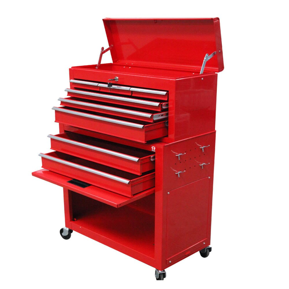 Carro Porta herramientas 8 cajones TBT1306+N Torin MI-TON-36151