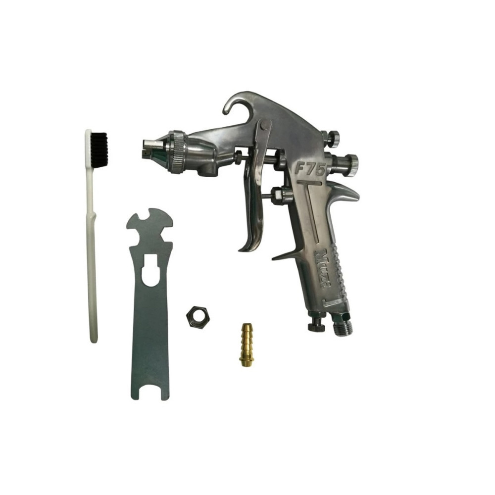 Pistola DE PINTAR BOQUILLA 1.3mm 400 ml F 75 G Muzi MI-MUZ-051187