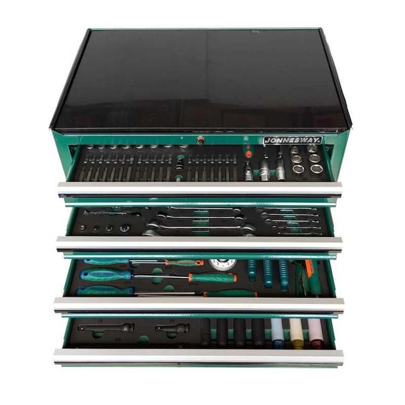 Carro Porta herramientas 210 piezas C7DW210V Jonnesway MI-JON-050063
