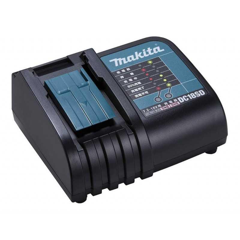 Chaqueta Térmica Talla M DCJ205Z 18V + Batería 18V 3Ah BL1830B + Cargador DC18SD Makita DCJ205ZM-2