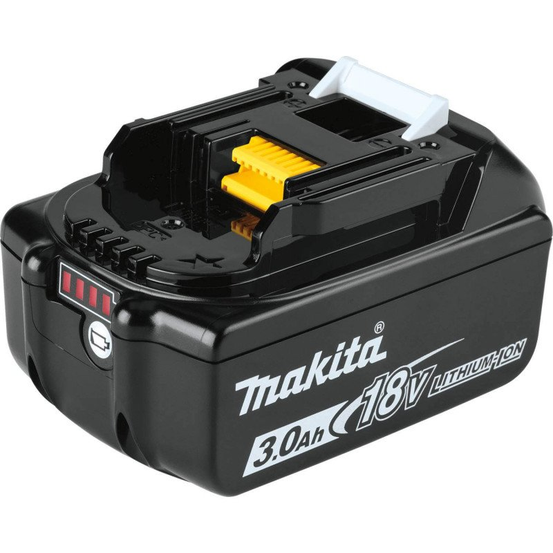 Chaqueta Térmica Talla 2XL DCJ205Z 18V + Batería 18V 3Ah BL1830B + Cargador DC18SD Makita DCJ205Z2XL-2
