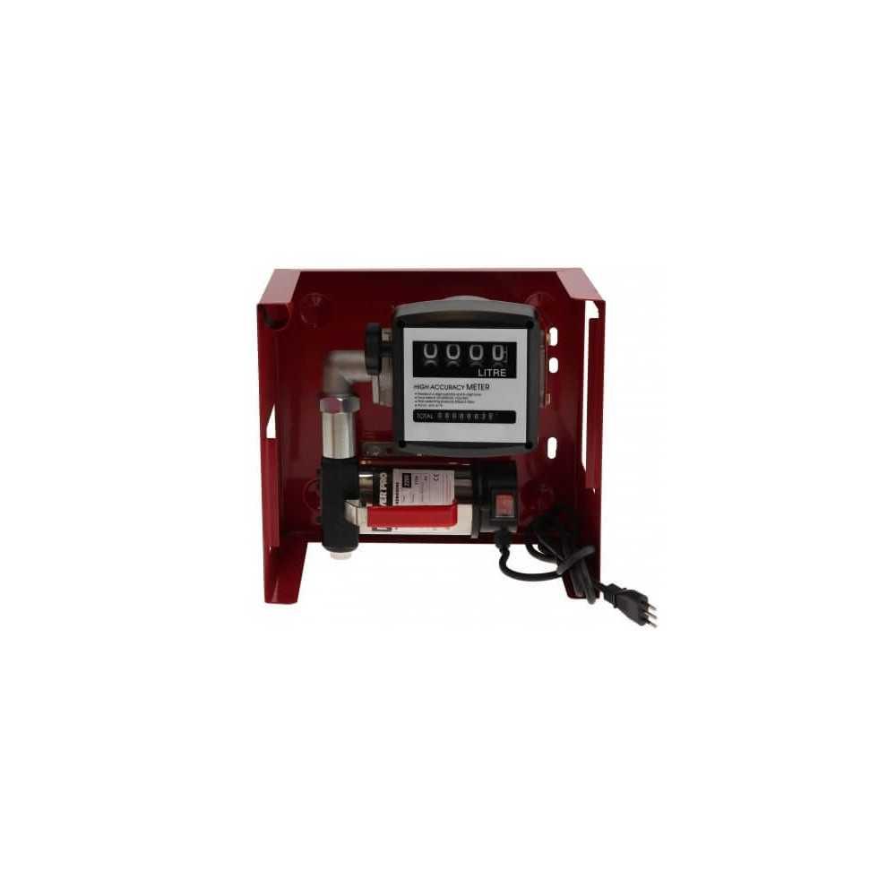 "Bomba Trasvasije de Combustible 1""x1"" 0.5HP 220V EDK40 + Accesorios Power Pro 103011252"