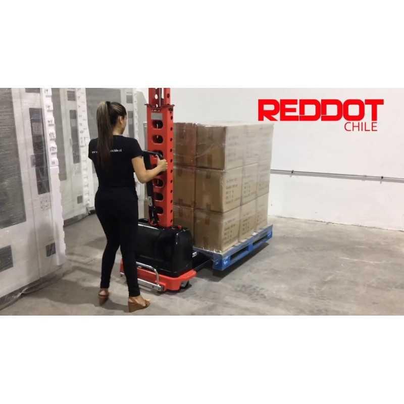 Apilador - Montacarga Portátil 500KG 1300MM Reddot SME 0513