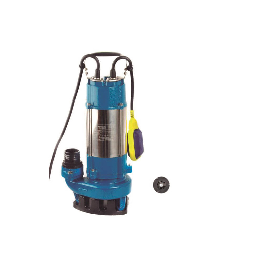 Bomba de Agua Sumergible Trituradora Aguas Servidas 2.4 HP ESP26.4-10/1.8ID AQUASTRONG ESP26410