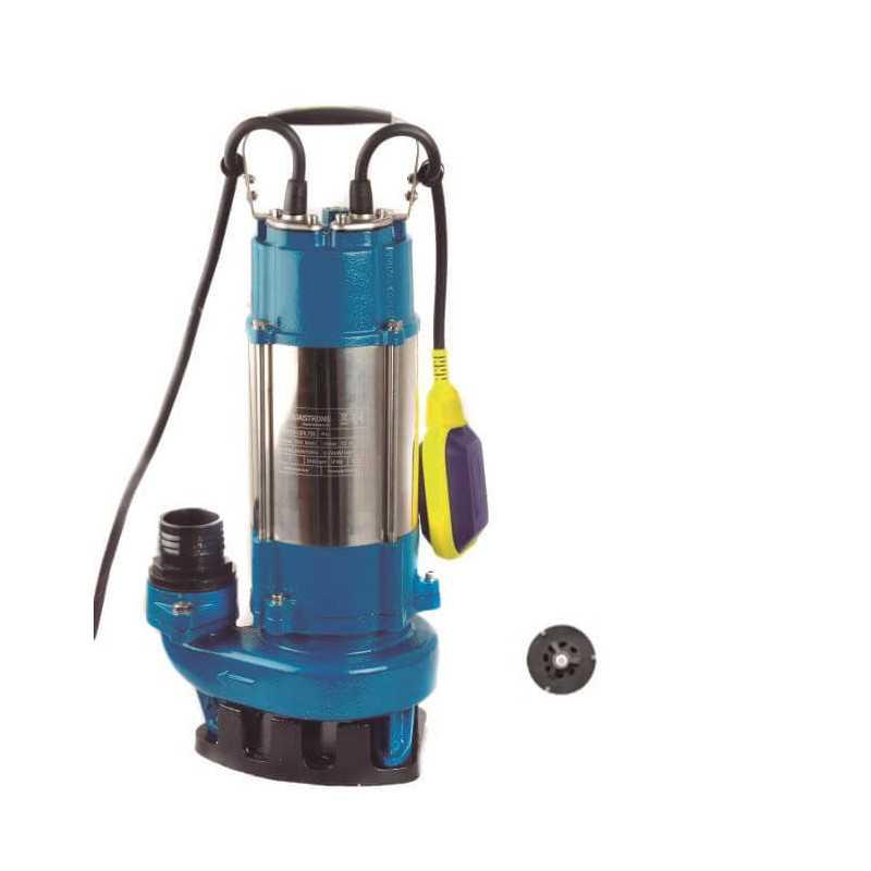 Bomba de Agua Sumergible Trituradora Aguas Servidas 1.75 HP AQUASTRONG ESP1812/1.3ID