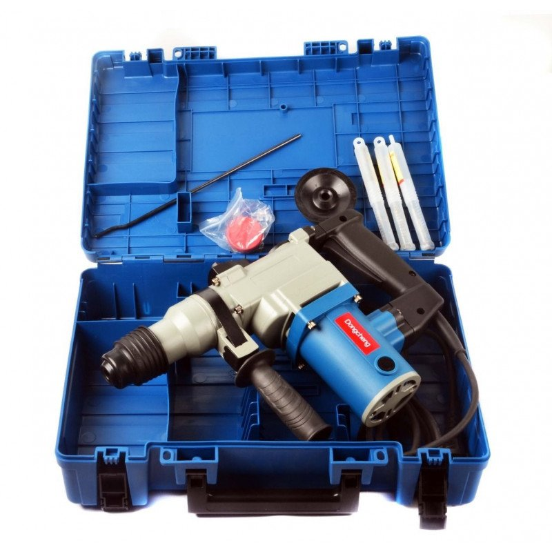 Rotomartillo SDS - PLUS / 750 W - 26 MM. + Accesorios. DONGCHENG DZC03-26