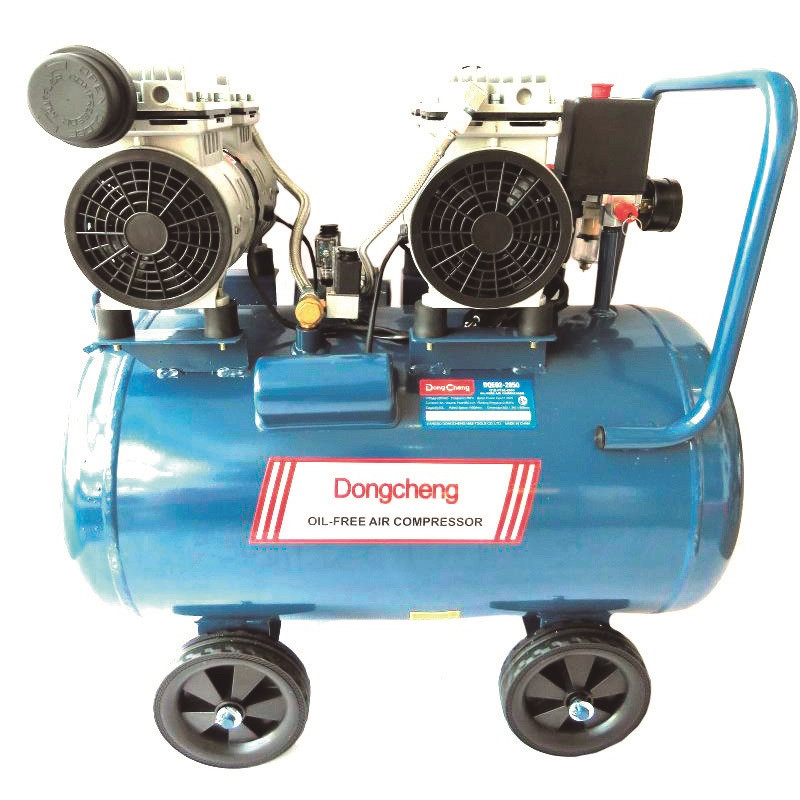 Compresor libre de aceite 1600 W - 8 BAR - 50 L. DONGCHENG DQE02-2850