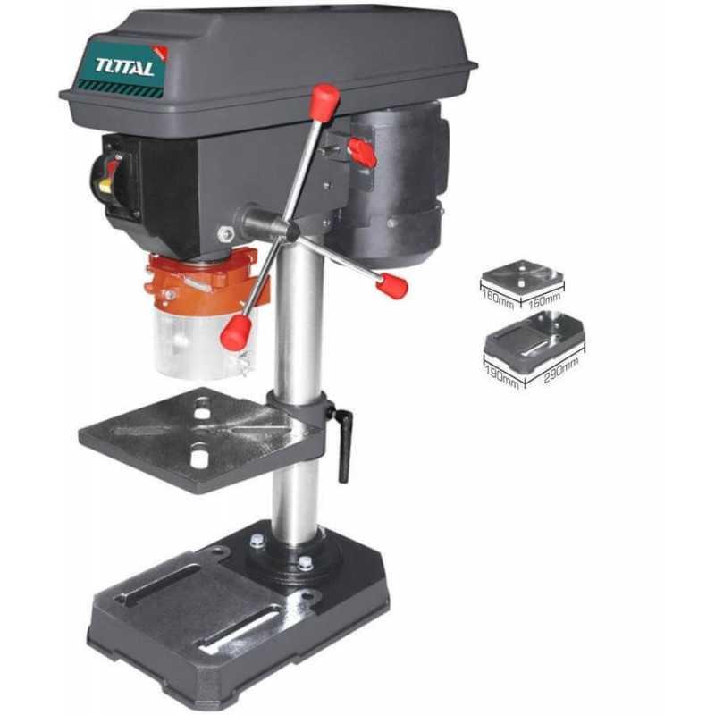 Taladro Pedestal o de Banco 350 W 13MM. Total Tools TDP133501