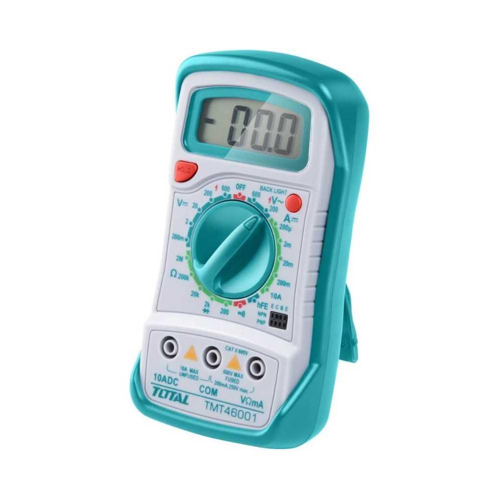 Tester-Multimetro 200V / 600V. Total Tools TMT46001