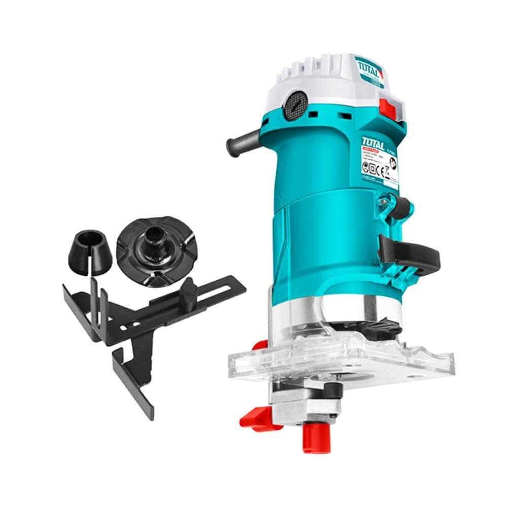 """Fresadora 500w - 6mm 1/4"""" Total Tools TLT5001"""