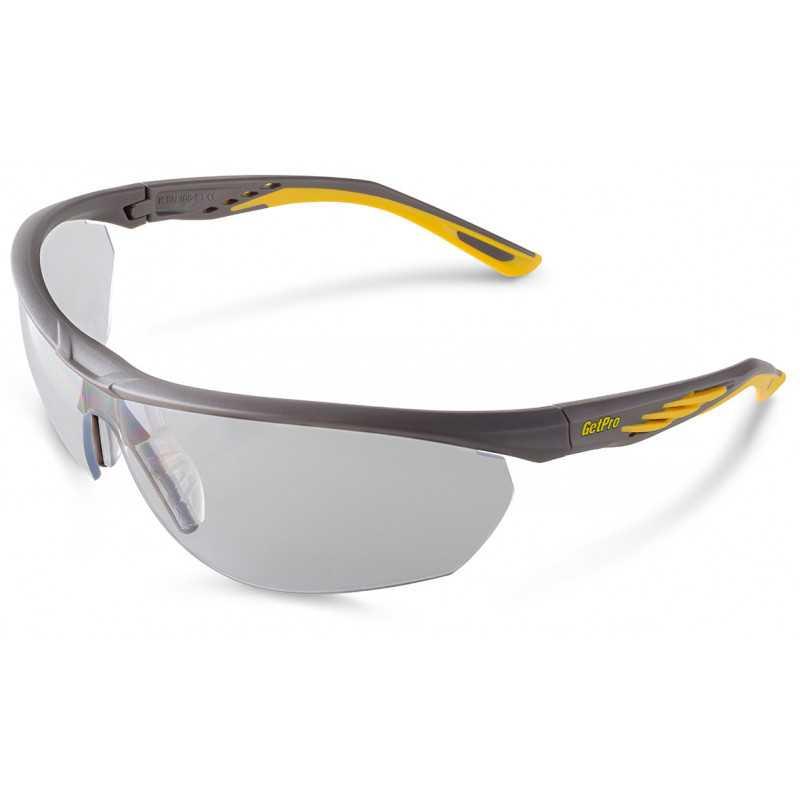 Lente de Seguridad Protección UV FIT GREY 1333-AF Getpro 111435