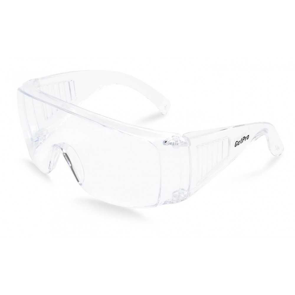 Lente de Seguridad Protección UV B-COVER CLEAR SF-1 Getpro 141805