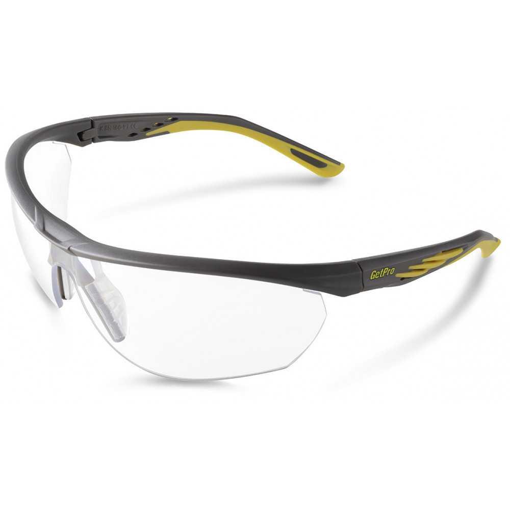Lente de Seguridad Protección UV FIT CLEAR 1333-AF Getpro 111434