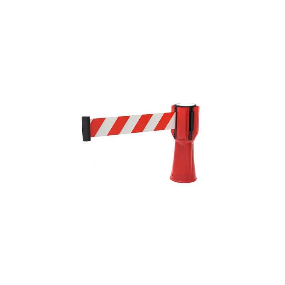 Cinta Retractil para Conos PVC y Tela 2.5 mts x 5 cm. Kupfer 140417