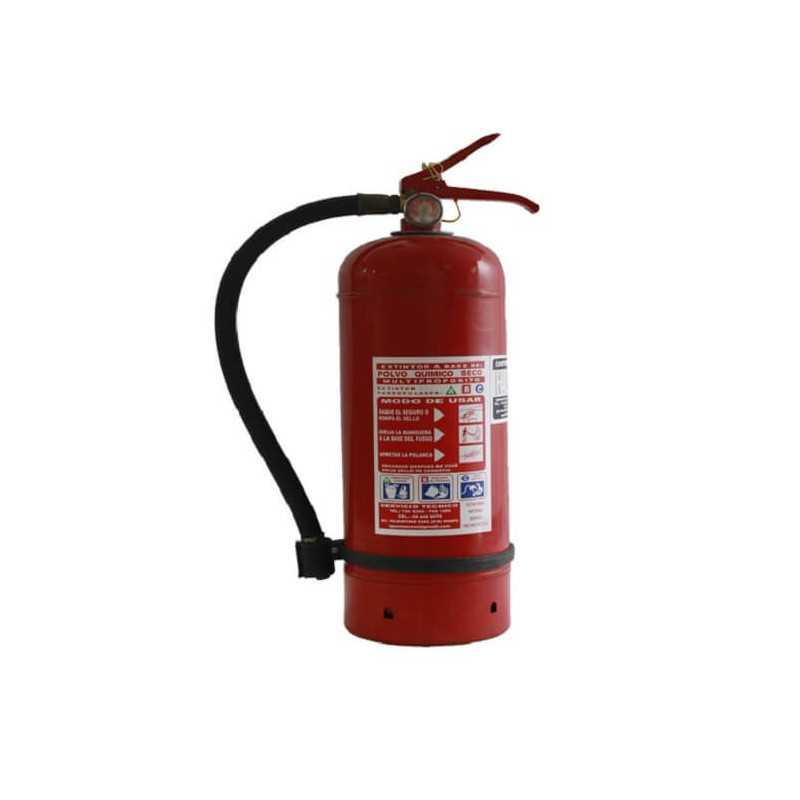 Extintor 1 KG Para Incendios ABC Exanco 95803