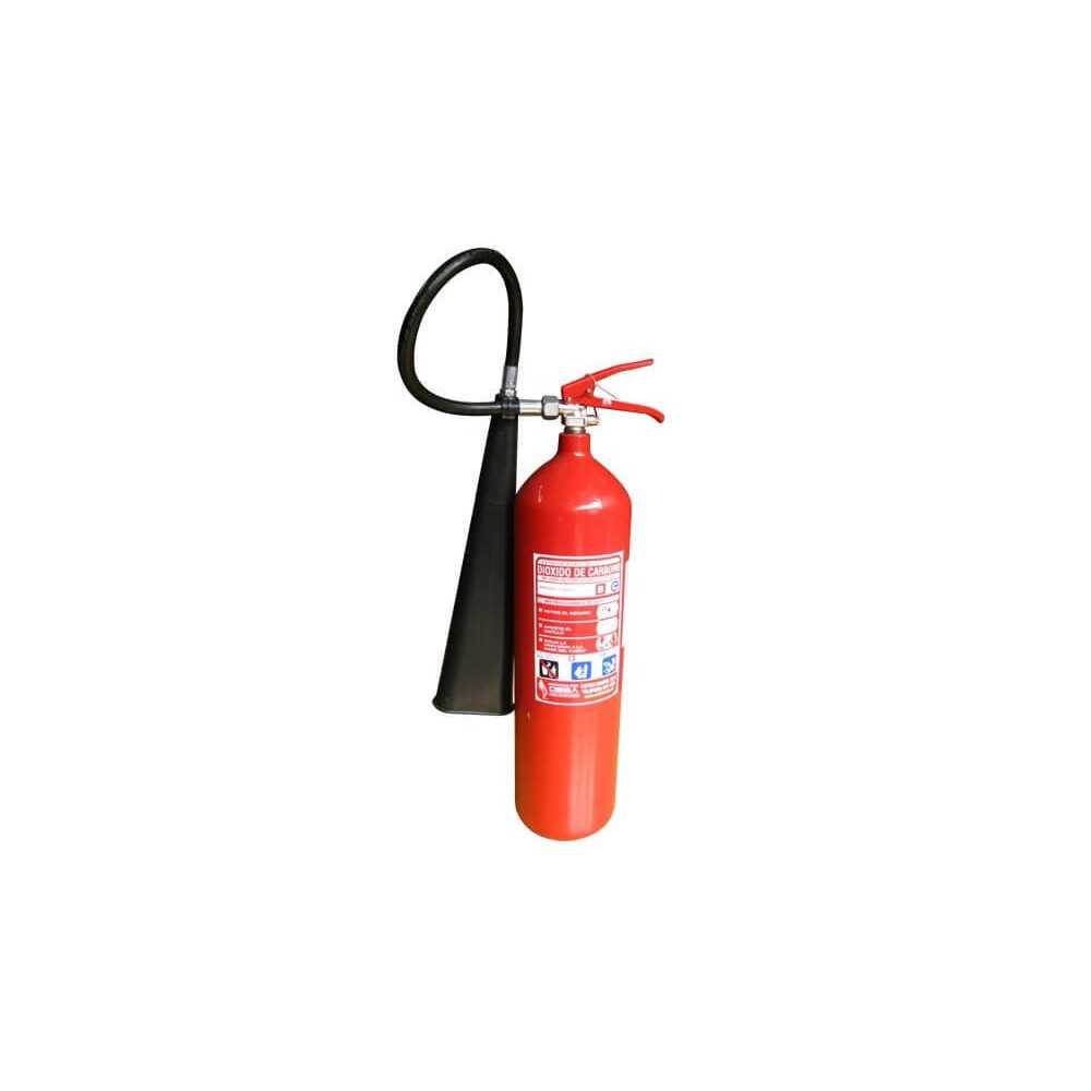 Extintor CO2 10 KG Para Incendios BC con Carro Exanco 140635