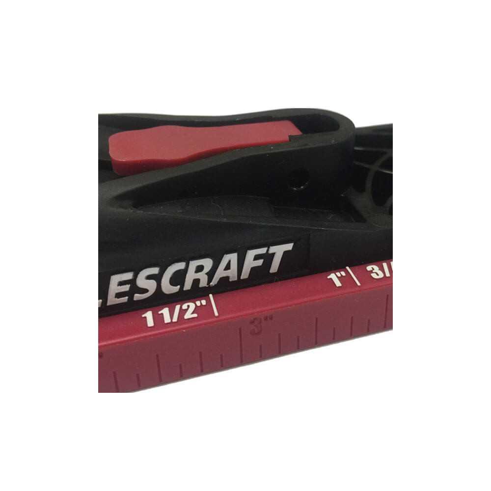 Kit Carpintería Guía de Perforación PocketJig200 75 Piezas Milescraft 1325