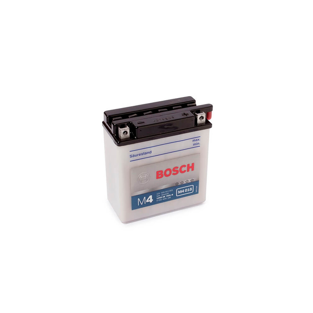 Batería de Moto 12V 5Ah Positivo Derecho M4 BB5L-B Bosch 3912N5-3B