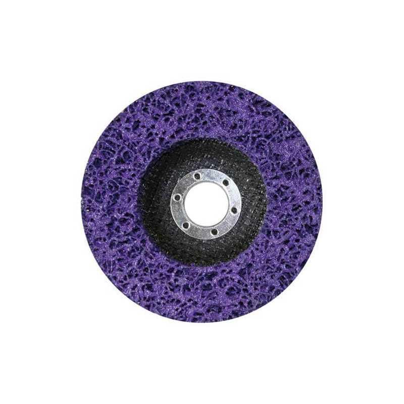 Disco Limpiador Fibra Morado 180x22.23mm Makita B-29038