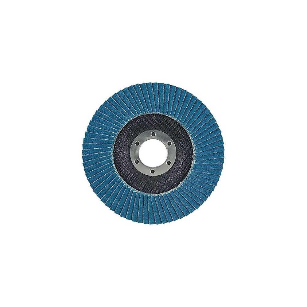 Disco Flap 115x22.23mm Grano 60 Zircón / Metal y Acero Inoxidable Makita D-27442