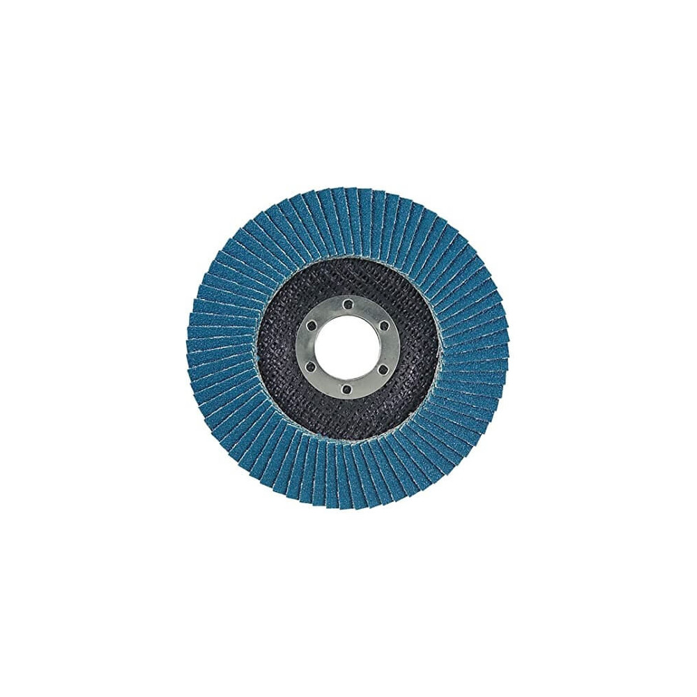 Disco Flap 180x22.23mm Grano 80 Zircón / Metal y Acero Inoxidable Makita D-27551